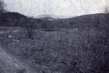 Tyto snímky zaniklých vsí Ktiška (Lichteneck), Ostrá Hora (Scharfberg), Miletínky (Paulus, dnes jsou Miletínky součástí obce Ktiš) a Křížovice (Kschischowitz) provázely jeho text v krajanském časopise z roku 1964