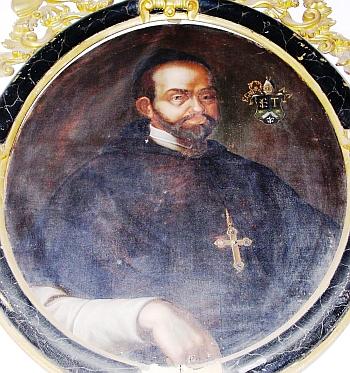 Potrét opata Georga rytíře von Wendschuha vevyšebrodském klášteře