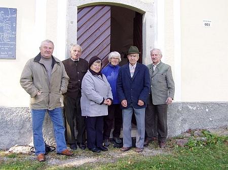 Setkání rodáků ze Staré Huti v červnu 2011 (viz i Otto von Habsburg)