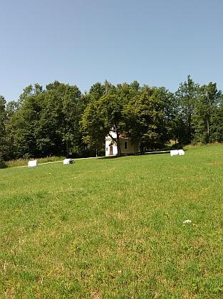 Tady někde (v popředí snímků) stával rodný dům