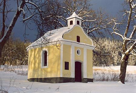 ... dnes zůstala jen tato kaple