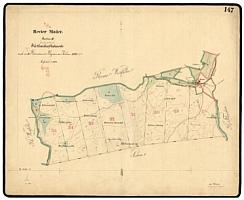 Hospodářská mapa revíru Modrava (evidenční list 1902), kterou zakreslil (klikněte na náhledy pro digitalizovanou mapu)