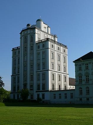 """Opatství Kremsmünster a klášterní hvězdárna (""""Sternwarte"""")"""