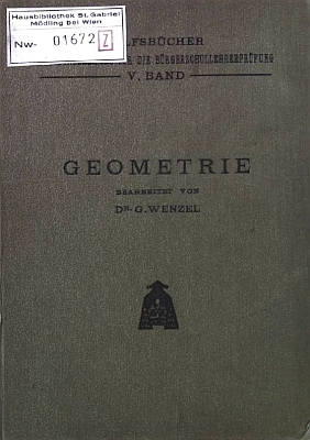 Vazba (1915) jedné z jeho učebnic
