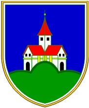 Znak slovinské obce Mozirje (německy Prassberg), jeho rodiště