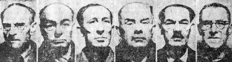 Dne 14. února 1947 byli na základě popraveni spolu s ním (odleva): Hans Krebs, Franz Schreiber, Georg Böhm, Franz Werner a Ernst Kundt - zcela napravo je zachycena jeho tvář před výkonem trestu, jak snímky zveřejnil deník Právo lidu den poté, co byl vykonán