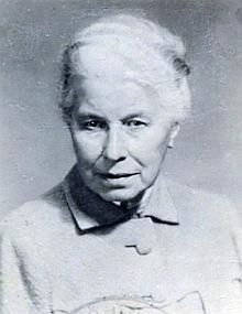 Jeho matka Ernestina Westenová, roz. Musina