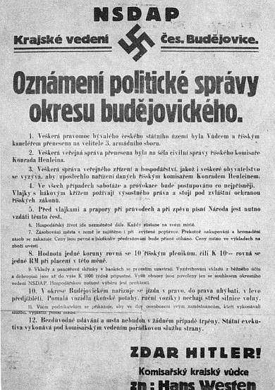 """""""Zdar Hitler"""" a """"komisařský krajský vůdce"""""""