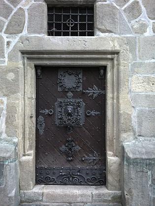 Vchod do Černé věže