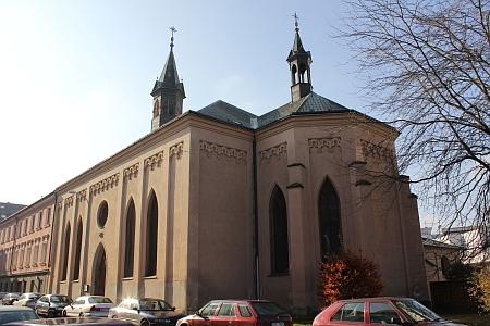 Kostel sv. Václava v Kostelní ulici