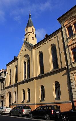 Evangelická modlitebna v ulici 28. října (viz i Johann Twardzik)