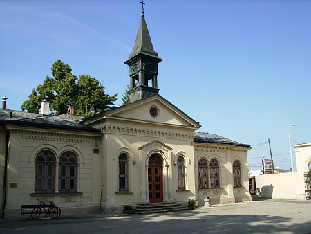 Kaple sv. Otýlie na městském hřbitově