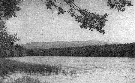 Rybník Babylon u Domažlic na jeho snímku