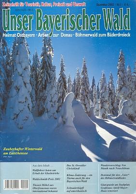 Jeho text o Andreasi Hartauerovi, šumavské hymně a památníku v Lenoře přetiskl z krajanského měsíčníku ičasopis věnovaný Bavorskému lesu