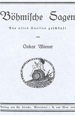 Titulní list (1919) Wienerových českých pověstí