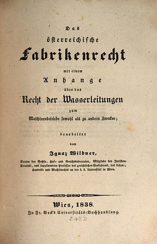Titulní list (1938) jeho práce, z níž je přeložena předmluva v taxtové ukázce