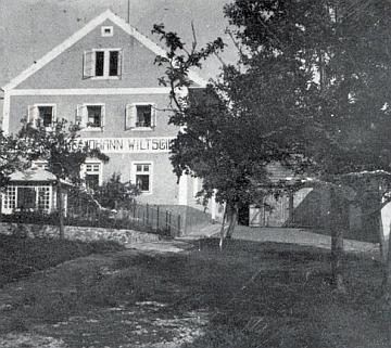Obytný dům a sídlo kamenické firmy Johann Wiltschko