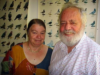S manželkou Roswithou
