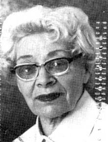 Paní Rosa Truhlarová - jedna z volarských Kempingerových