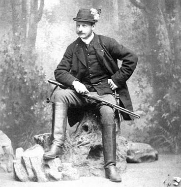 V oblíbeném loveckém oblečení