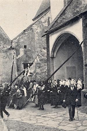 Kájovské procesí na Bílou sobotu