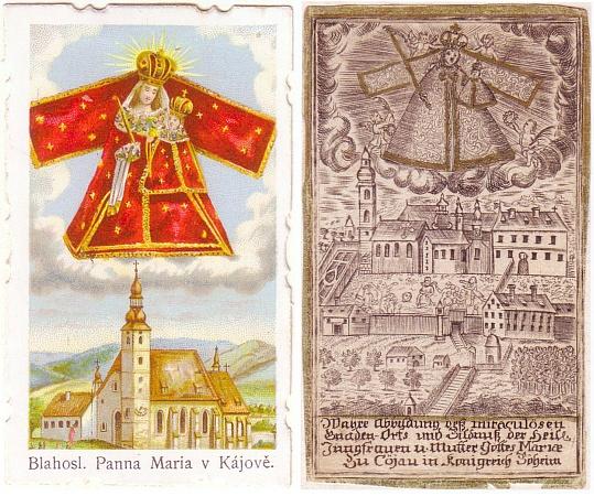 """Český a o dvě století starší německý """"svatý obrázek"""" z Kájova"""" in """"Königreich Böheim"""""""