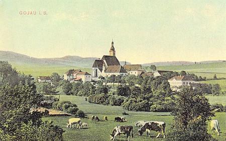 ... na starých pohlednicích,...