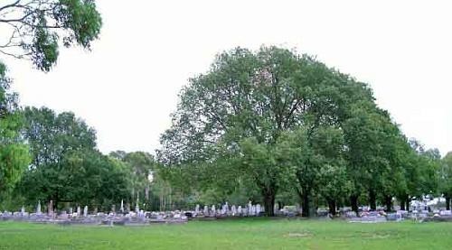 Hřbitov v australském Armidale