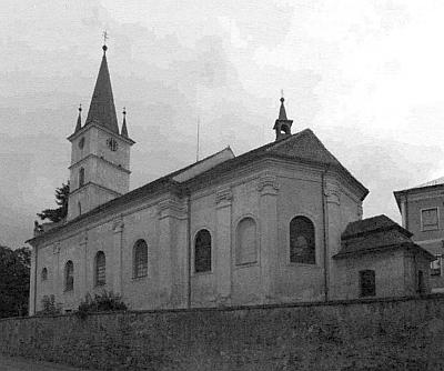 Kostel sv. Jakuba na snímku ze srpna 2006