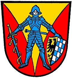 Znak města Zwiesel