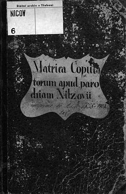 """Záznam o svatbě jeho rodičů v oddací matrice farní obce Nicov 25. června roku 1901: ženich Alois Winter, majitel hospodářství v Nicově čp. 18, byl synem Adalberta Wintera, výminkáře v Nicově čp. 18, a jeho manželky Marie, roz. Weberové z Nicova čp. 6, nevěsta Maria byla dcerou Karla Krückla, chalupníka (v originále """"Chalupner""""!) v Milově čp. 6, a jeho choti Marie, roz. Stadlerové z Kleinschlagu v rakouském Štýrsku - oddávajícím knězem byl Eberhard Winter, tehdy kaplan v Boršově nad Vltavou, připojeny jsou i podpisy otců ženicha i nevěsty"""