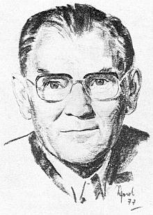 Na kresbě Lothara Sperla zroku1977