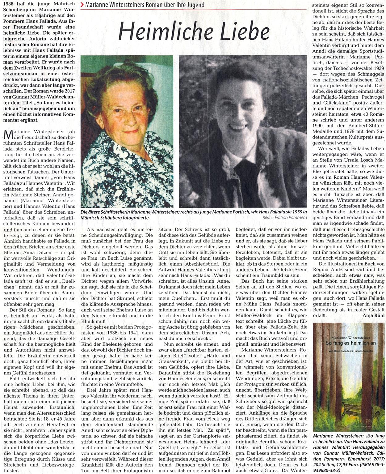Podrobněji o její tajné lásce s Hansem Falladou a o románu, který z toho vzešel