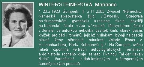 Její medailon na internetových stránkách Vlastivědného muzea vŠumperku