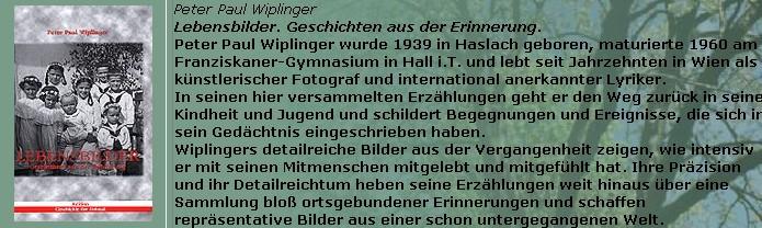 Obálka (2003) a anotace jeho knihy v nakladatelství Franz Steinmaßl v Grünbachu