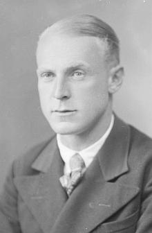 """Otec na snímku od Seidelů z června roku 1939 s adresou """"Buchers 1, bei Kaplitz"""""""