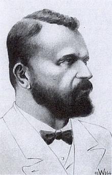 Josef Taschek na Wodiczkově podobizně