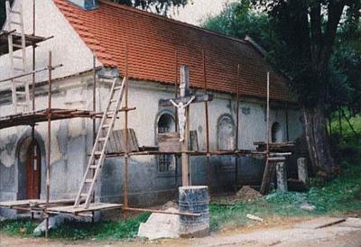 Rekonstrukce kaple v Kuří