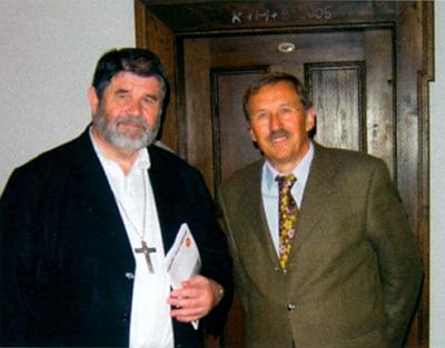 S biskupem Jiřím Paďourem