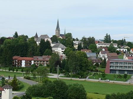 Bad Leonfelden, kde Karl Woisetschläger po válce žil