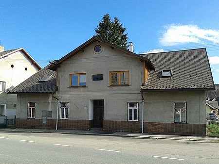 Rodný dům (dnešní čp. 168) ve Zdíkově
