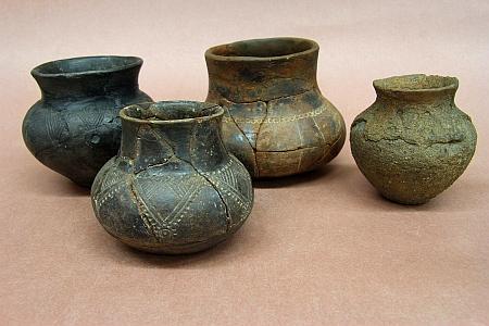 Z nálezů keramiky v plavském mohylníku