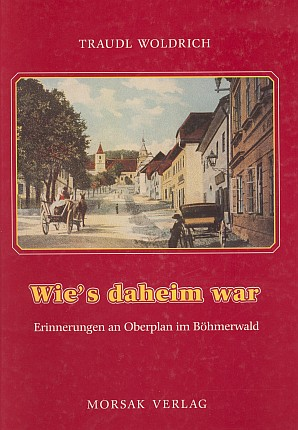 Obálka knihy (1977) vydané v nakladatelství Morsak, Grafenau