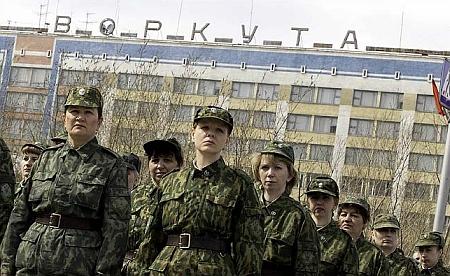 Vojenská slavnost ve Vorkutě 2005