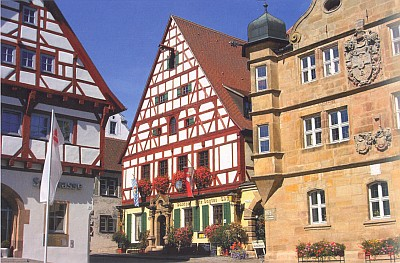 Muzeum a pomník slavného rytíře a minesengra ve Wolframs-Eschenbachu