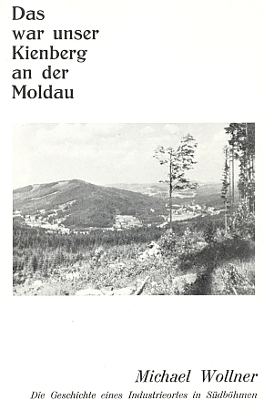 Obálka (1968) jeho knihy vydané v Linci sdružením Verband der Böhmerwäldler inOberösterreich