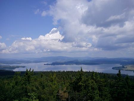 Pohled z Vítkova Kamene