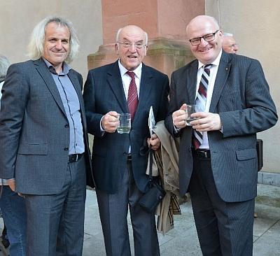 V září 2016 ve Würzburgu na slavnosti blahořečení Engelmara Unzeitiga s Danielem Hermanem a Jiřím Hůlkou