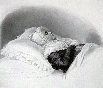 Posmrtný portrét Eleonory Žofie zu Schwarzenberg