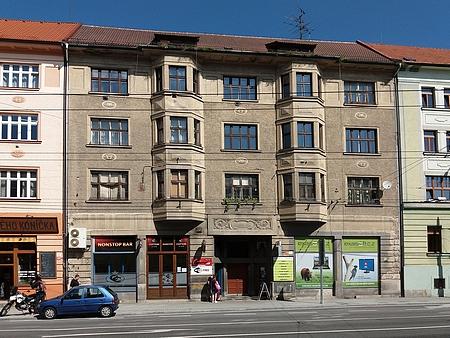 Dům s orientačním číslem 17 v českobudějovické Žižkově ulici na snímku z roku 2017